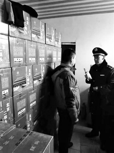 北京二锅头遇李鬼 昌平工商查扣六千瓶