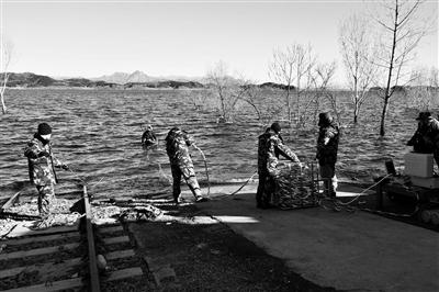 消防潜水员重装培训