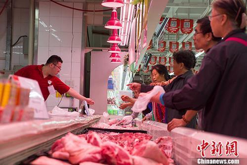 11月份北京CPI同比上涨2.4% 猪肉价格下降