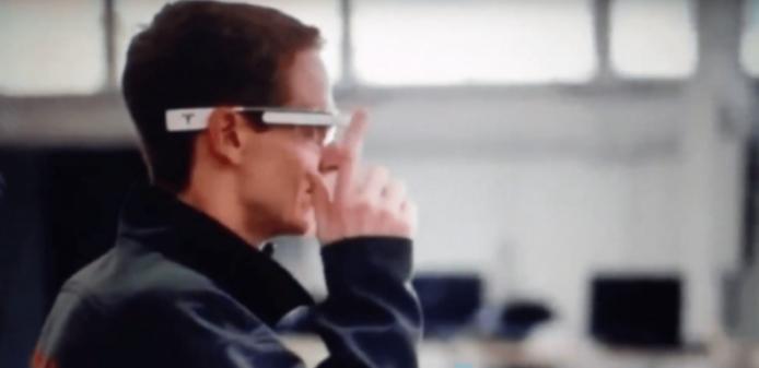 特斯拉拟让车间工人佩戴AR眼镜来辅助汽车生产