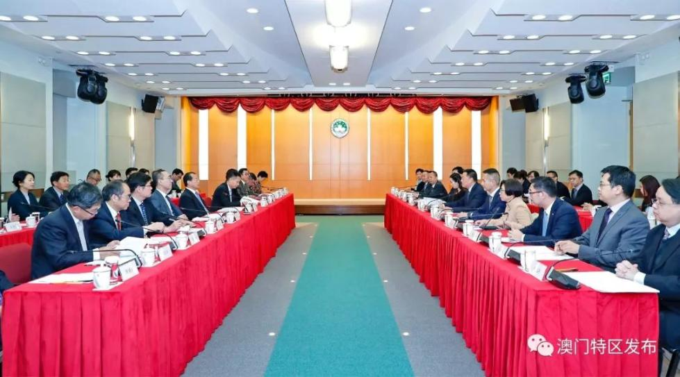 内地与澳门经贸合作委员会首次会议形成19项互利政策措施