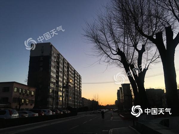 今天北京阵风达6级 气温触底反弹周日升至6℃