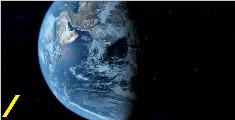 如果地球向后旋转会怎样?