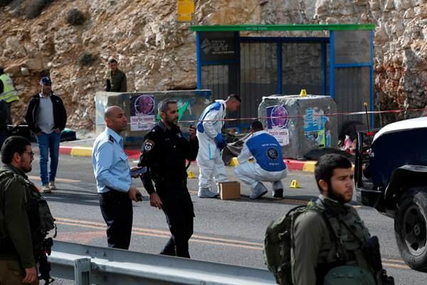 约旦河西岸:巴勒斯坦人射杀色列人 致2死1伤