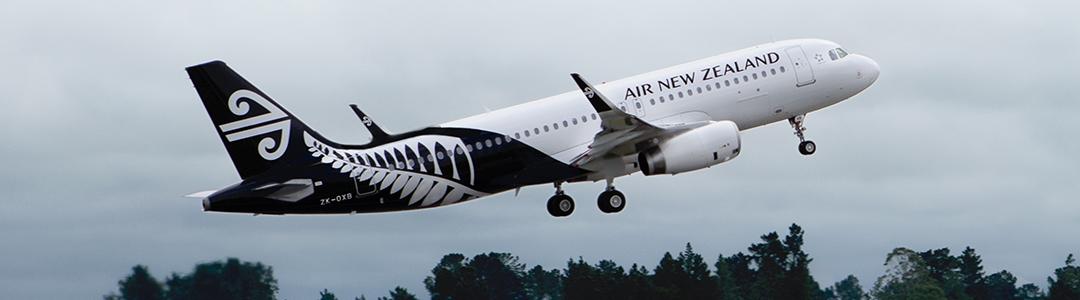 新西兰航空宣布开通奥克兰直飞因弗卡吉尔航线