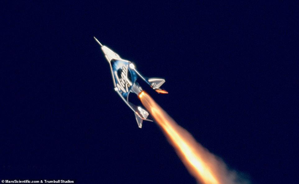 维珍银河首次试飞成功 其创始人或将是首位乘客