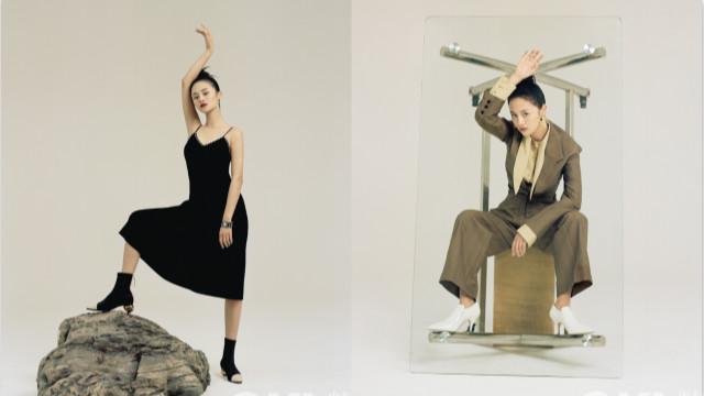 """安悦溪""""怪力派"""" 少女杂志大片曝光 时尚质感持续进阶"""