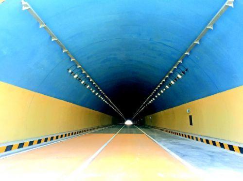 国道220平阴段即将通车,济南国道省道有了第一条隧道