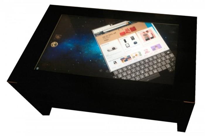 初创公司推出触摸式咖啡桌 采用Windows 7操作系统