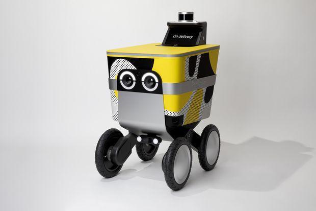 Postmates打造自动投递机器人 续航可达30英里