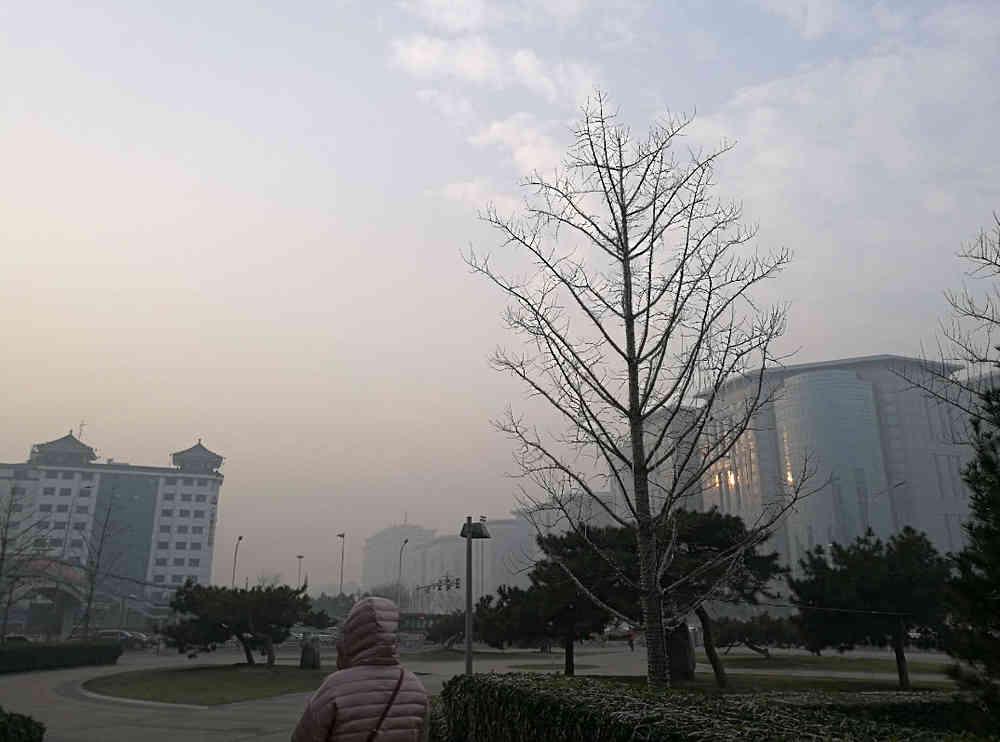 未来10天北京大气扩散条件总体偏不利