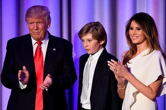 儿子个性更像特朗普还是自己?美国第一夫人这么说