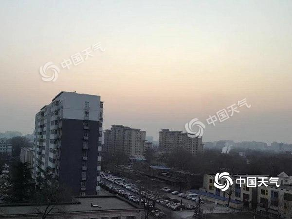 北京今天有霾明天霾散 下周回暖最高温升至7℃