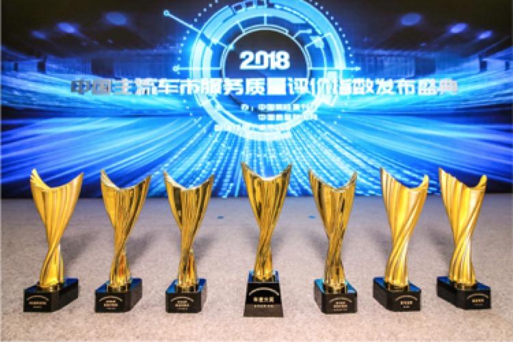 中国质检报刊社发布2018主流车市服务质量评价指数