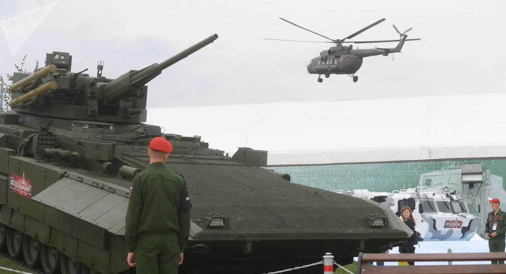 俄国防部副部长:俄军2018年共接装56款新兵器