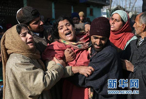 印控克什米尔地区发生枪战11人丧生