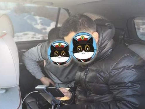小偷扒窃不意被警用无人机全程航拍