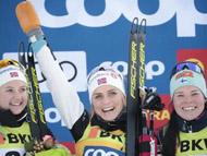 越野滑雪世界杯克莱博称霸短距离 约豪格赛季第五冠