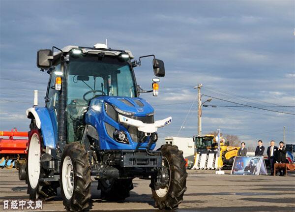 日企发售首款机器人拖拉机 机器人农机元年开启?