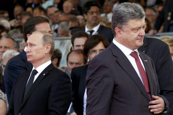 波罗申科抱怨普京拒绝对话 普京回:我只是不想理他