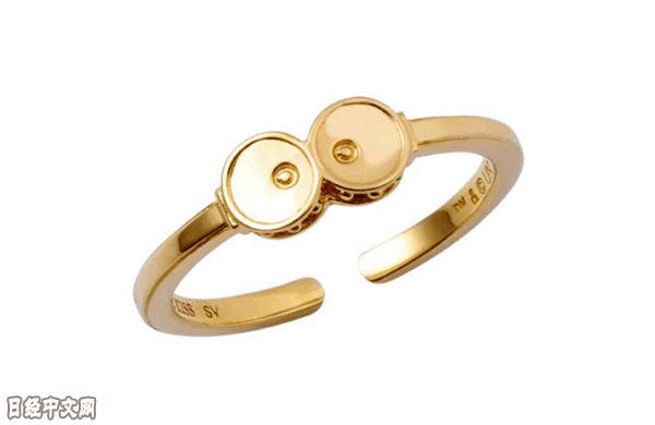 """日本首饰品牌推出创意主题,呆萌""""小黄人""""被制成戒指"""