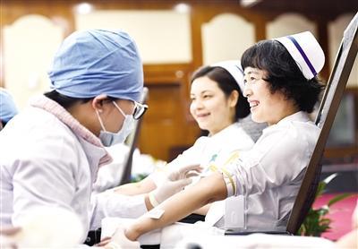 捐献热血 分享生命