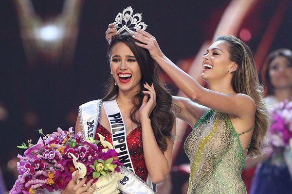 环球小姐总决赛落幕 菲律宾佳丽夺魁!