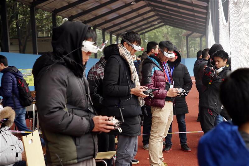 全国无人机竞速运动交流大会在湖南举办