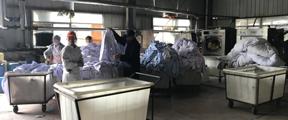 再访江西三甲医院洗涤厂:仍带血混洗