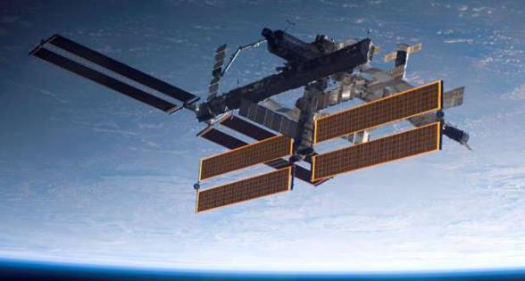 国际空间站上工作是什么感觉?来看这些罕见场景