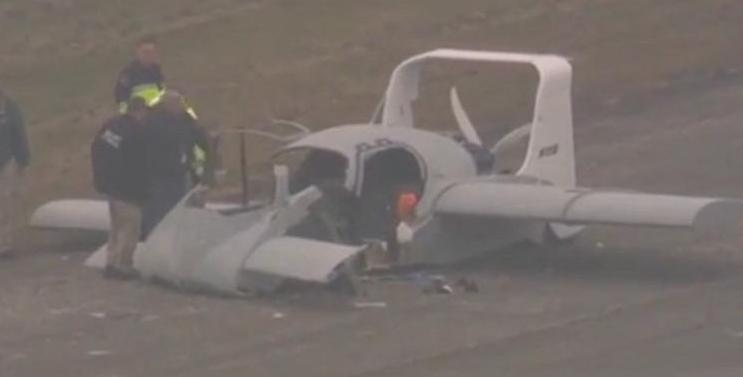 美国一辆飞行汽车意外坠毁 所幸驾驶员仅受轻伤