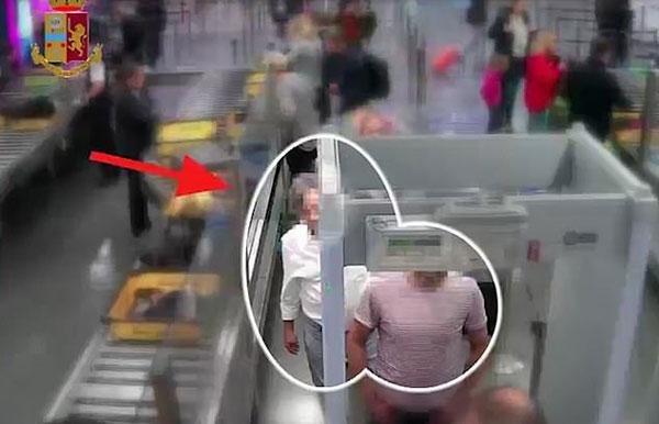 意机场安检处遭小偷光顾 两信封现金不翼而飞