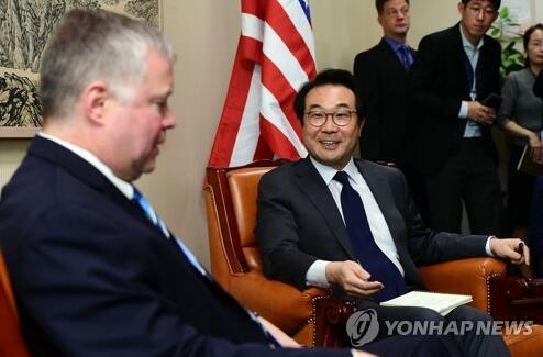 韩外交部:韩美朝核首席代表将就无核化实质性进展方案进行协调