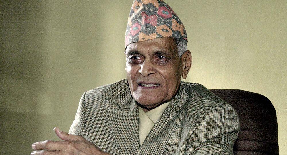 尼泊尔前总理图尔西•吉里去世 享年93岁