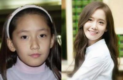 """韩星童年照,""""亚洲一美""""林允儿平淡无奇,T-ara朴智妍玲珑精致"""