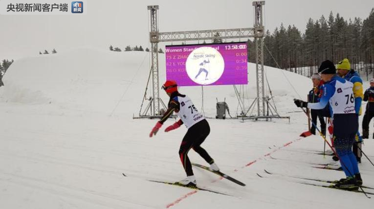 我国首次参赛残奥北欧滑雪世界杯闯进前六