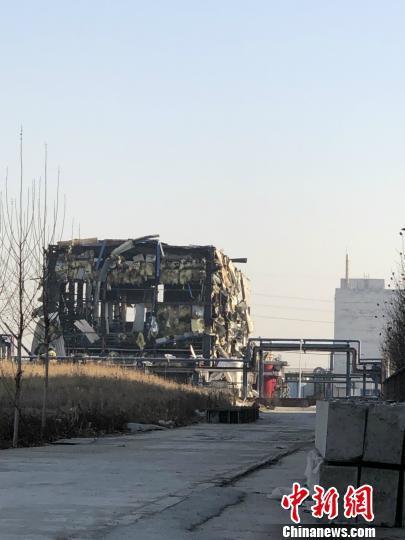 石家庄一化工厂发生闪爆事故 空气中未检测出有害物质