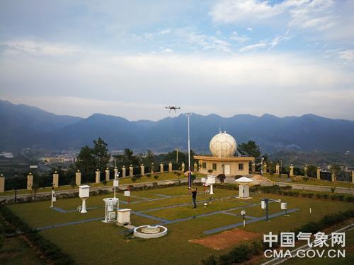 福建开展无人机气象观测与雷达定标试验