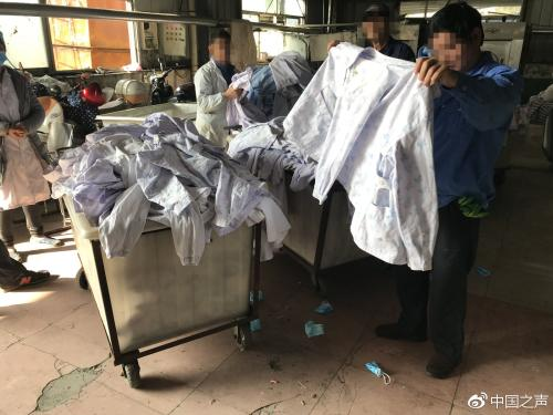 再访江西三甲医院洗涤厂:仍带血混洗 省卫健委调查
