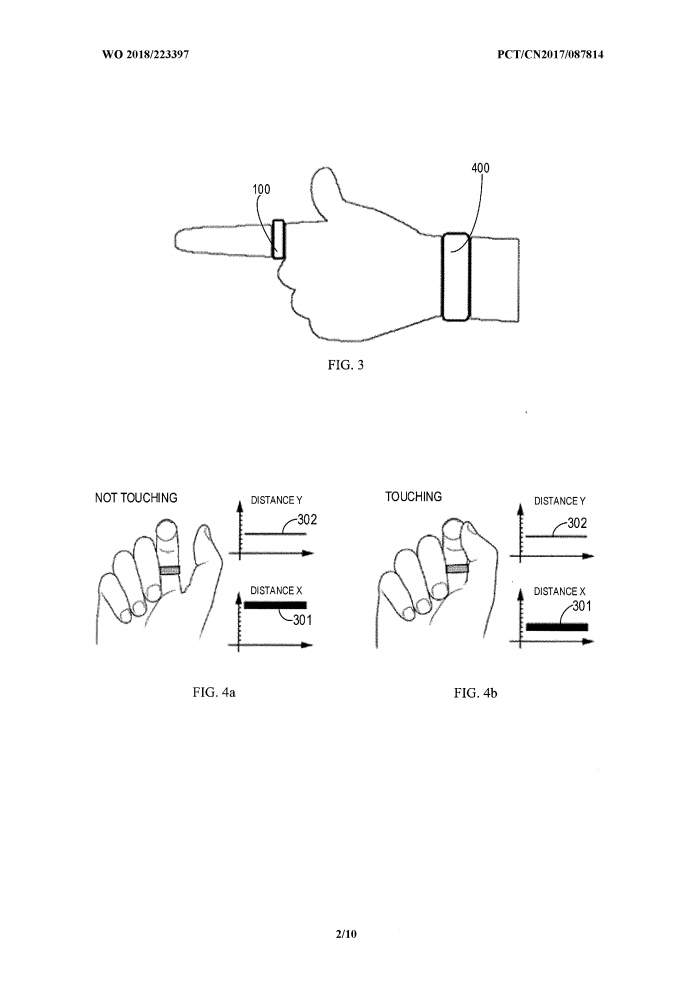 微软智能戒指专利曝光:可手势控制手表