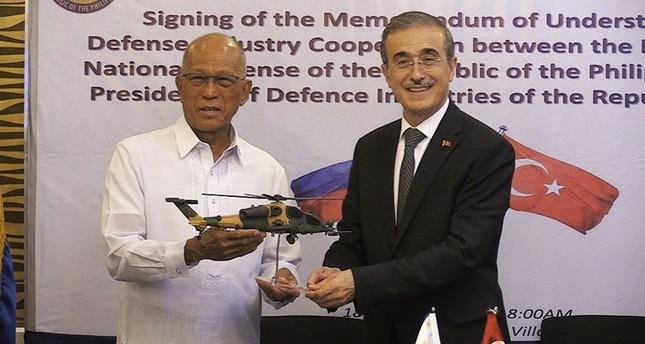 菲律宾决定购买土耳其T-129武装直升机