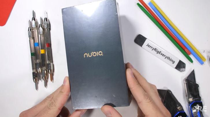 努比亚X手机遭海外知名大V严苛拷机:成绩卓越