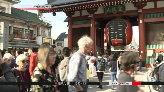 访日外国游客首次突破3000万人次,有望实现4000万人次目标