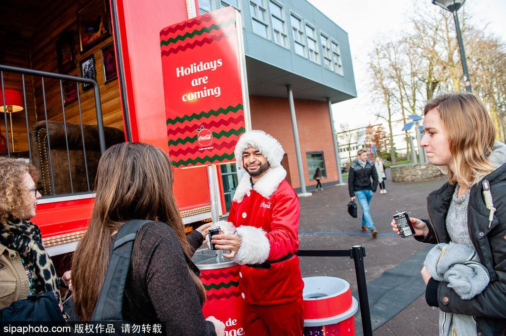 环保先行!可口可乐圣诞卡车旅行如期而至