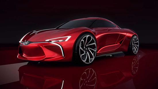 丰田MR2效果图曝光 或以电动车形式回归