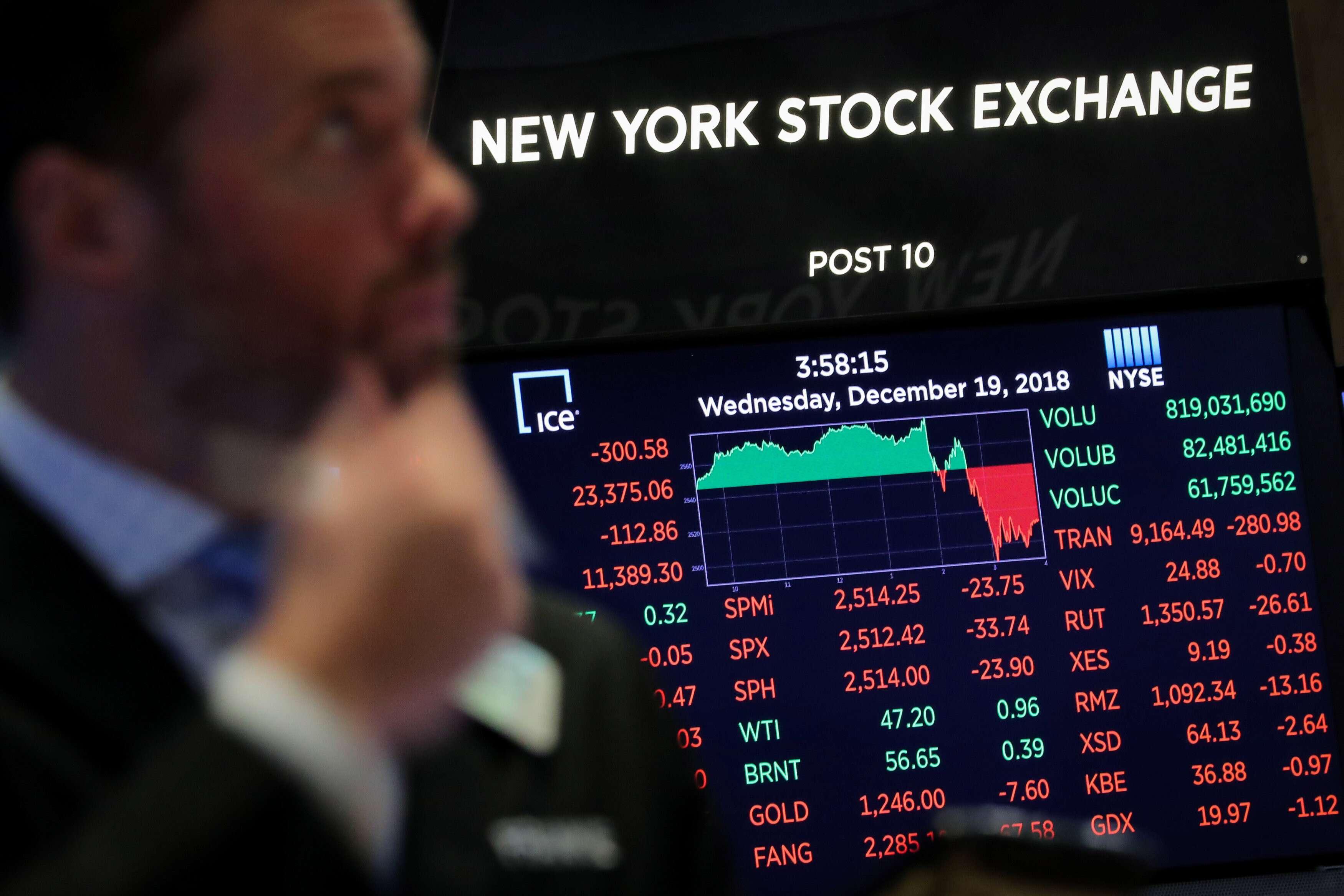 美联储无视特朗普干预宣布加息 美股全面下挫