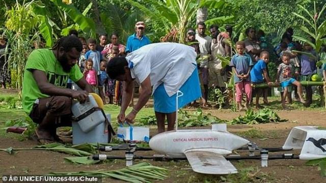 瓦努阿图无人机运送疫苗试验成功