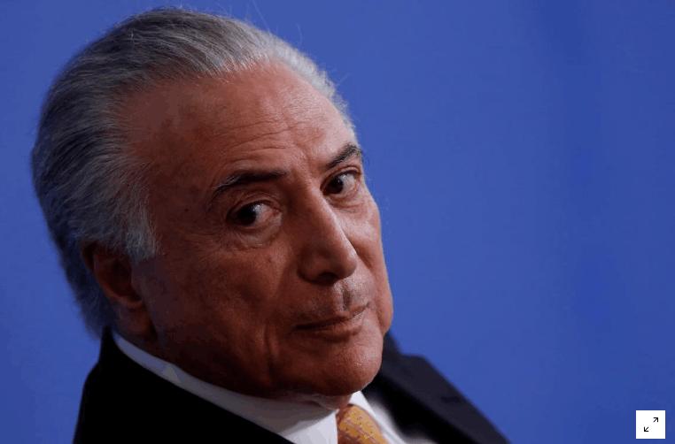 巴西总检指控巴西总统贪污洗钱 总统办公室:将证明没有违规