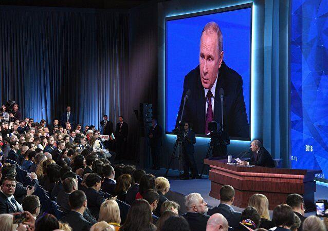 普京:俄罗斯应成为世界第五大经济体