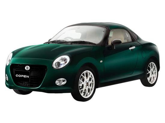 首次推出硬顶版 大发Copen Coupe官图